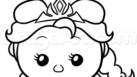585x329 Disney Cuties Coloring Pages Elegant Excellent Baby