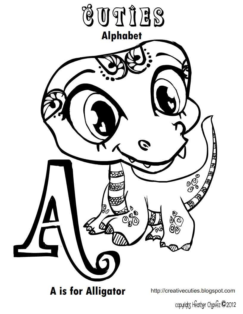 816x1056 Fresh Heather Chavez Creative Cuties Animal Design Free Coloring