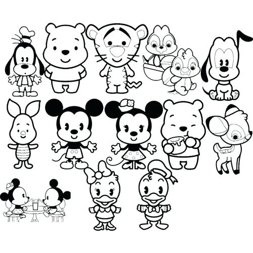 500x500 Cuties Coloring Pages Bucket List In Free Coloring Disney Cuties