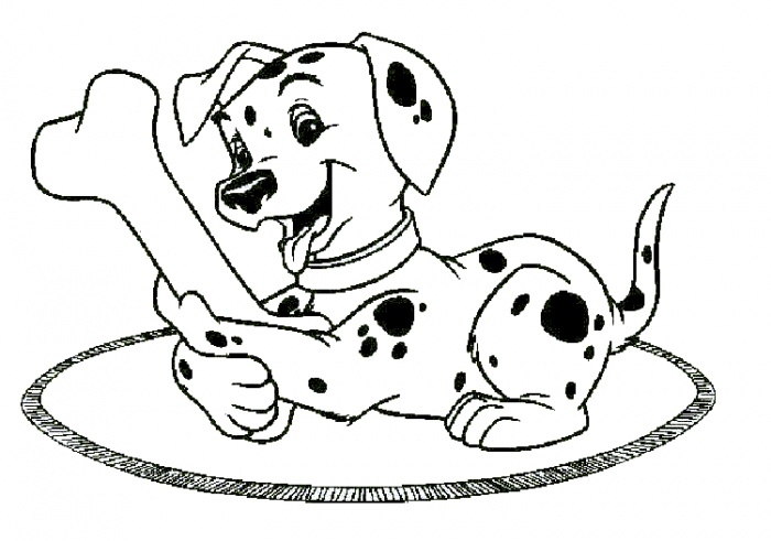 700x491 Free Coloring Pages Of Disney Dog Dog Bone Coloring Page Dog Bone