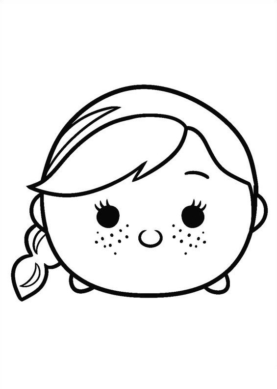 565x792 Disney Tsum Tsum Coloring Pages