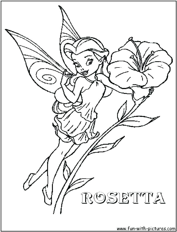 Disney Fairies Coloring Pages At Getdrawings Com Free For