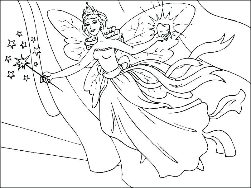 Disney Fairies Coloring Pages Silvermist