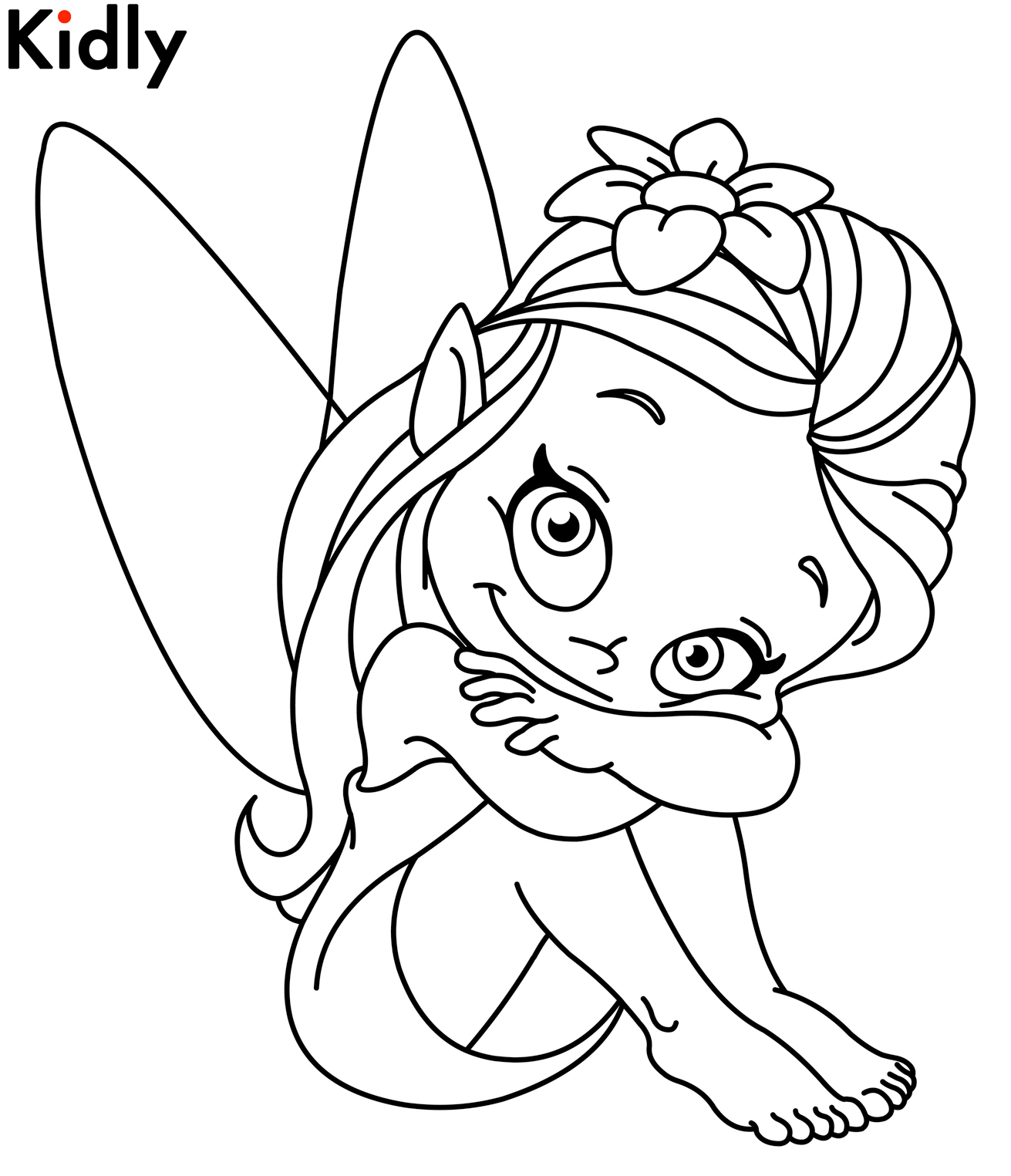 Disney Fairies Coloring Pages Silvermist at GetDrawings.com | Free ...
