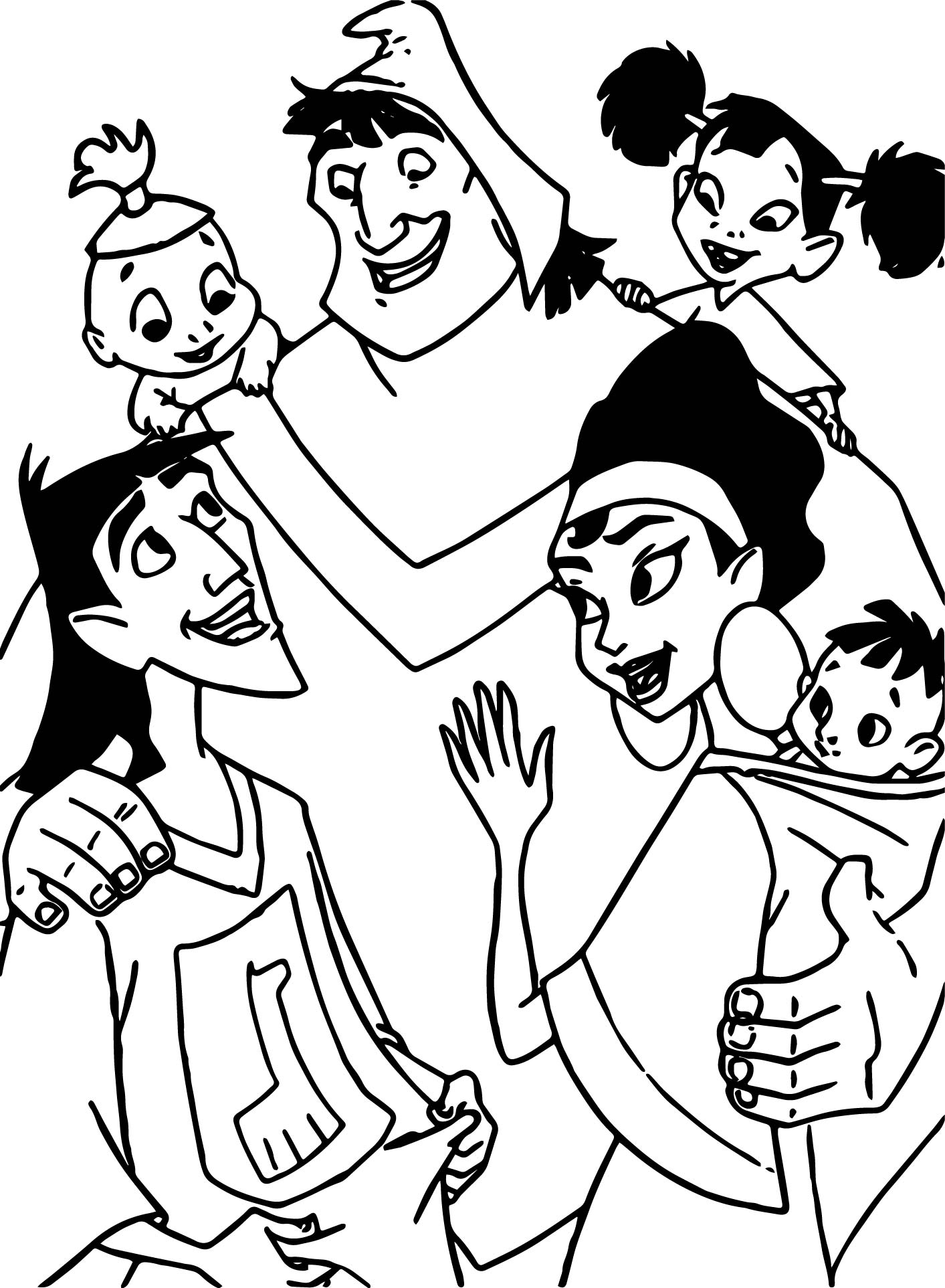 1413x1925 Emperors New Groove Coloring Pages Collection Free Coloring Sheets