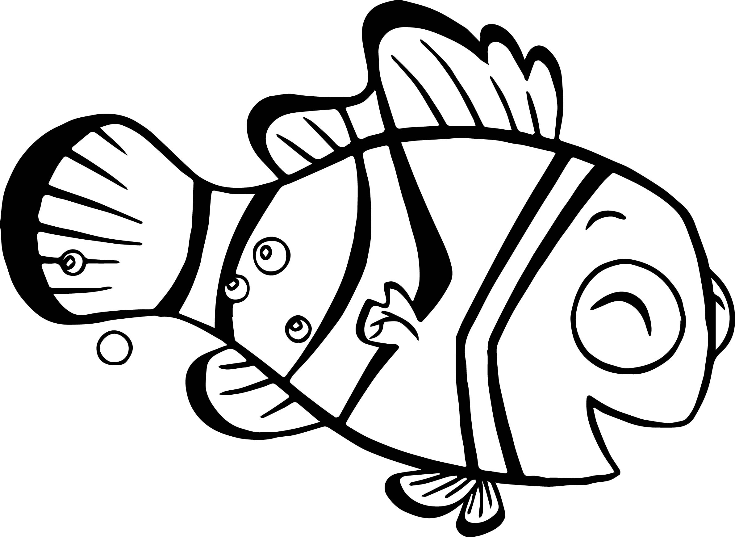 2381x1739 Disney Finding Nemo Coloring Pages Wecoloringpage