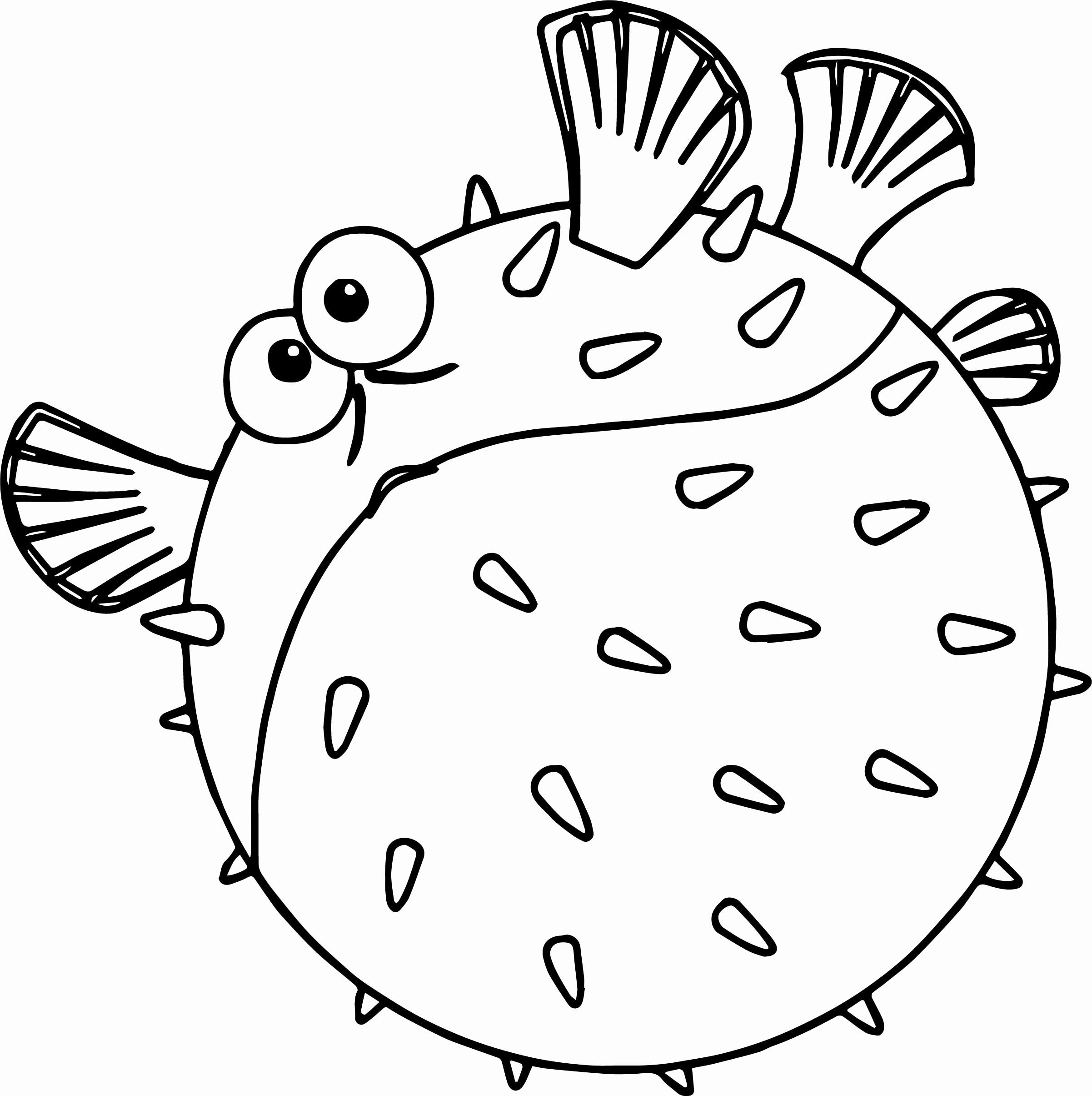 2403x2410 Finding Nemo Coloring Pages Inspirational Disney Finding Nemobloat