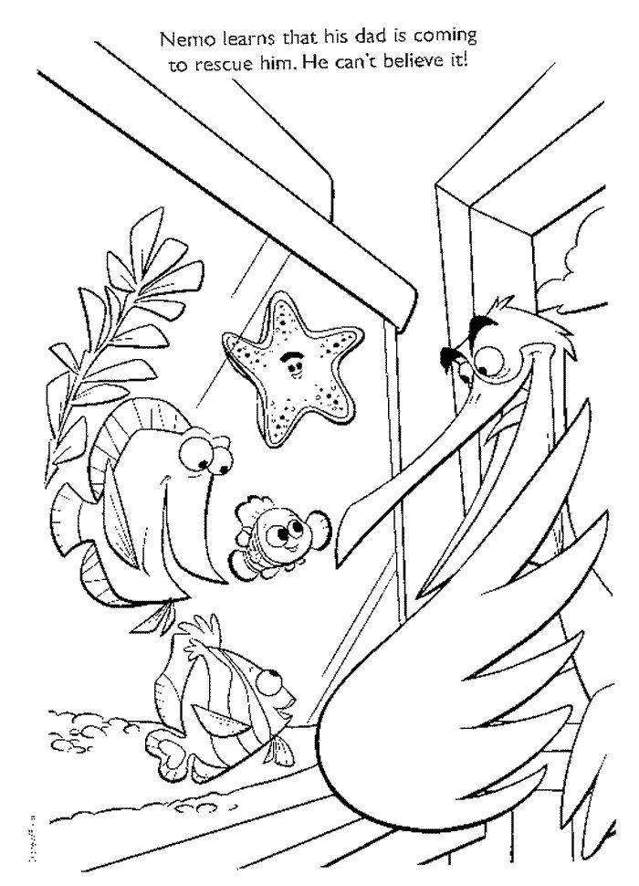 700x970 Mejores De Disney Finding Nemo Coloring Pages Disney