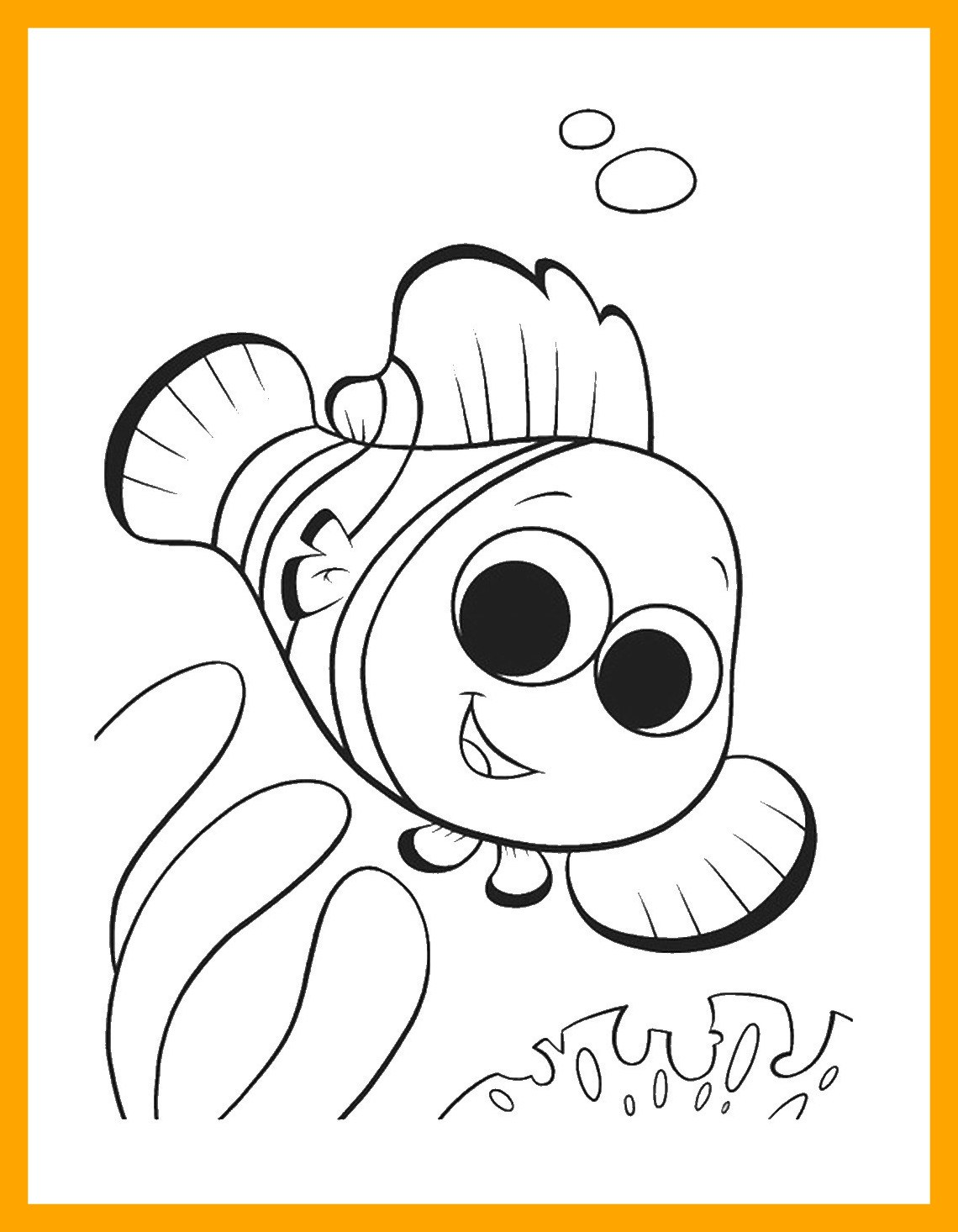 1140x1466 Unbelievable Finding Nemo Coloring Pages Pics For Disney Styles