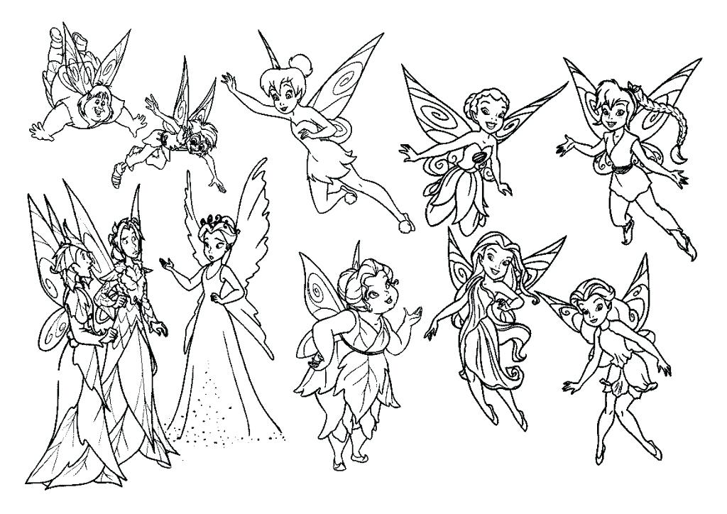 1024x724 Coloring Pictures Of Fairies Coloring Pages And Her Fairy Friends