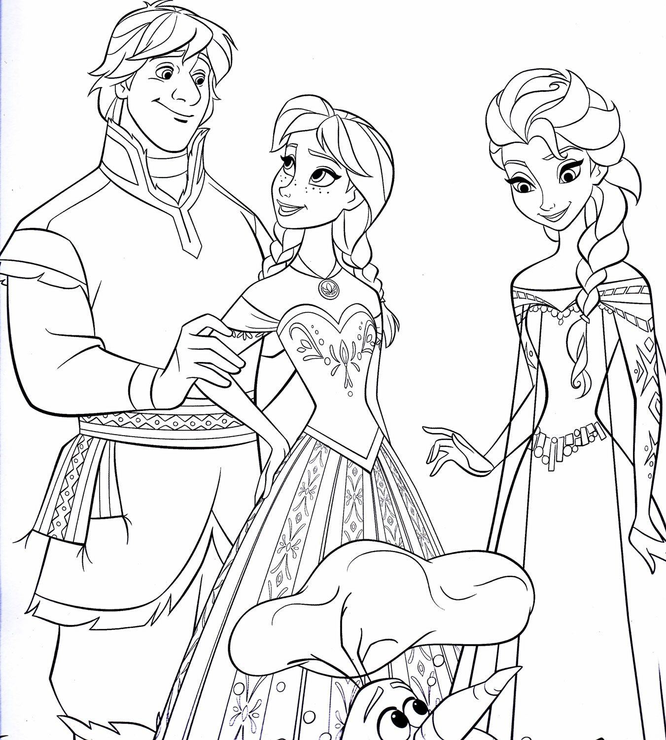 Disney Frozen Coloring Pages Elsa At Getdrawings Free Download