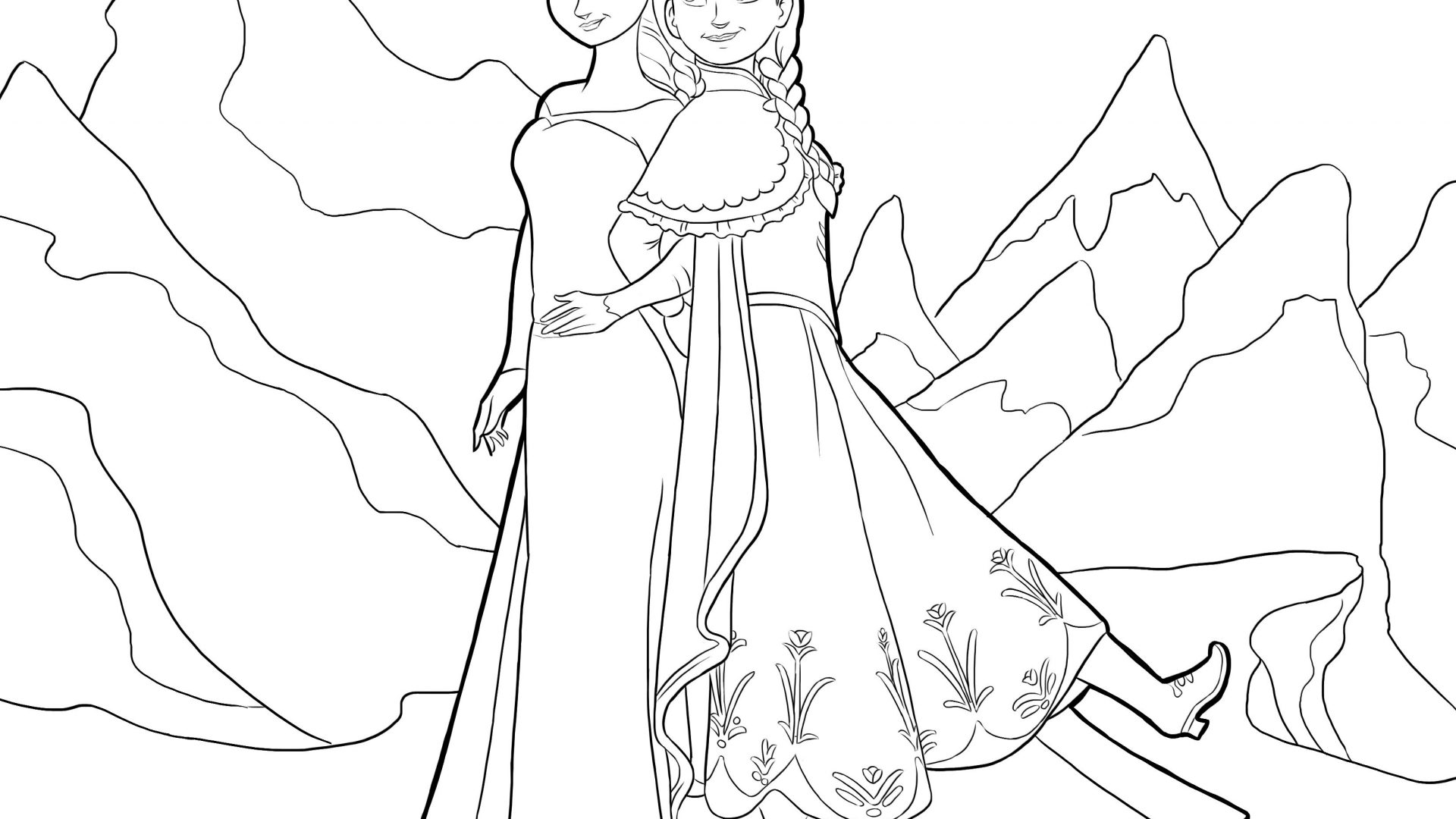 Disney Frozen Elsa Coloring Pages At Getdrawings Free Download