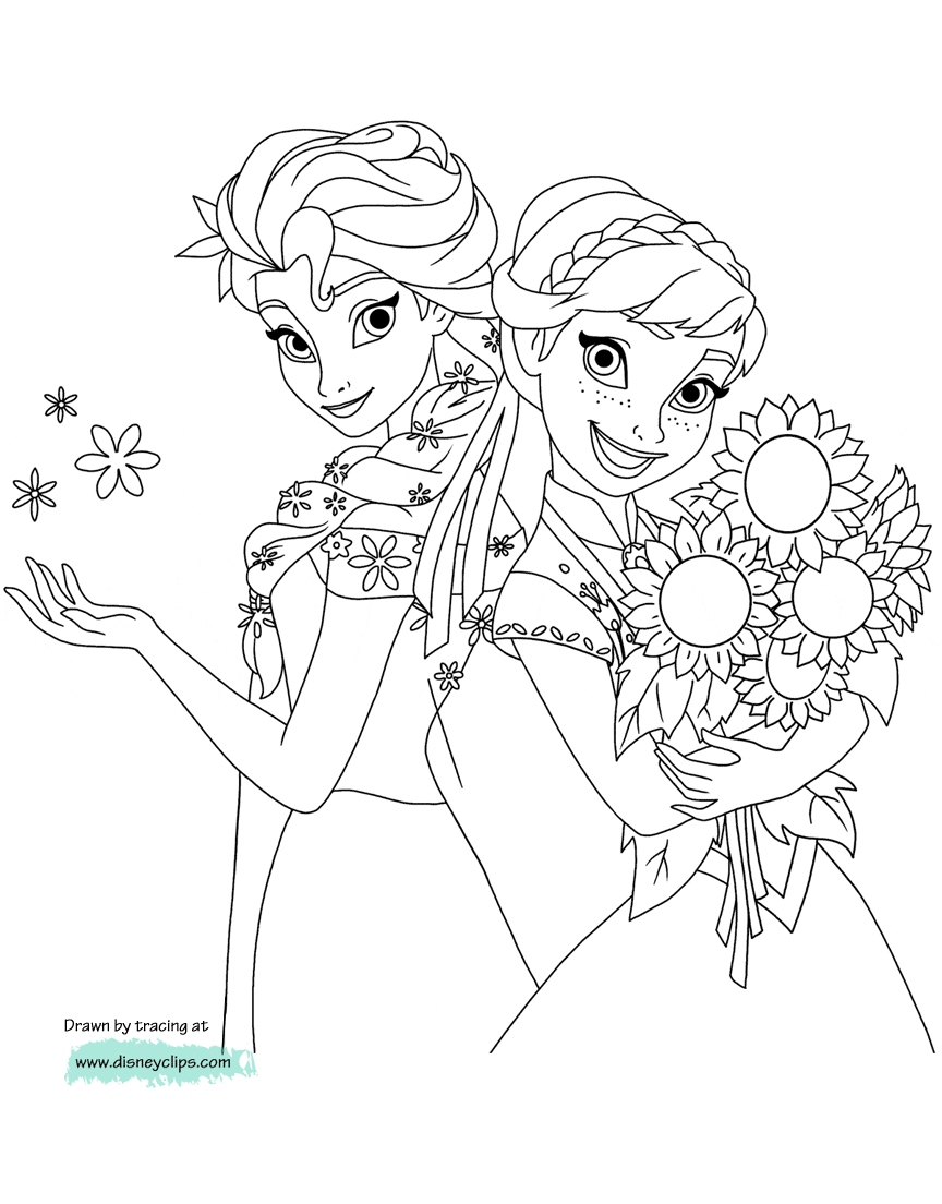 photo about Frozen Printable Coloring Pages titled Disney Frozen Printable Coloring Webpages at