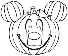 Disney Halloween Coloring Pages For Kids