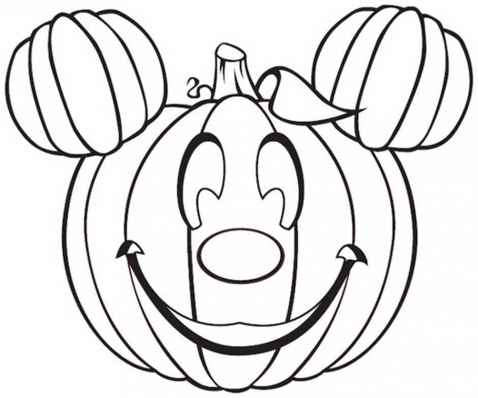 Disney Halloween Coloring Pages For Kids at GetDrawings.com