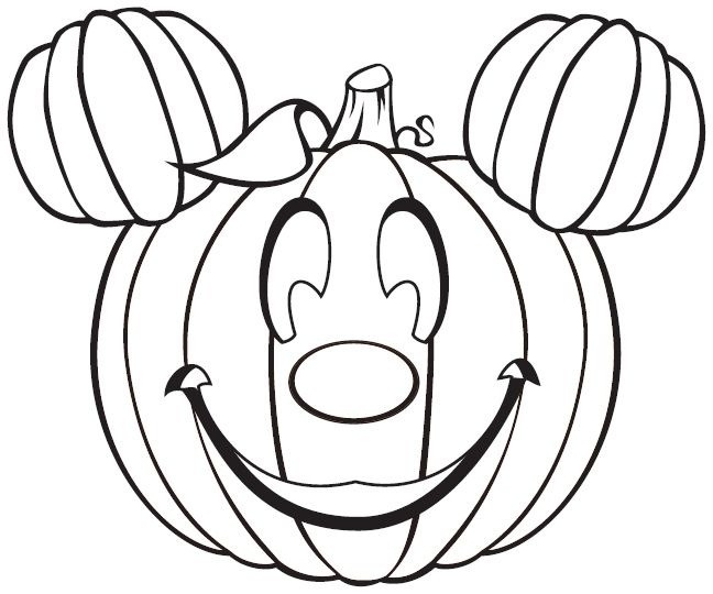 Disney Halloween Coloring Pages Printable At Getdrawings Com