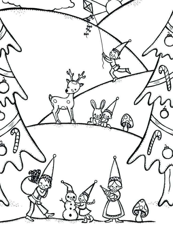 736x958 Disney Winter Coloring Pages Free Winter Coloring Pages Also