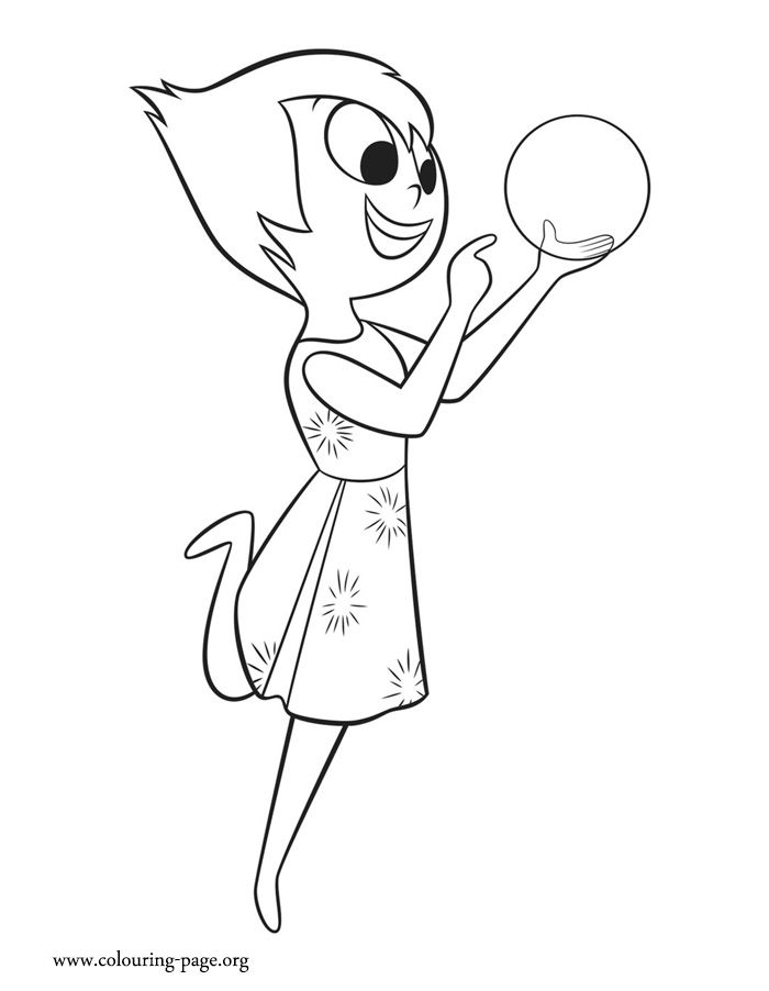 700x902 Coloring Pages For Girls Disney Inside Out Joy And Bing Free
