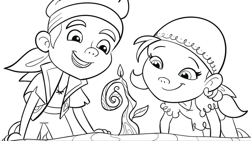 800x450 Jake And The Never Land Pirates Coloring Pages And Crafts Disney