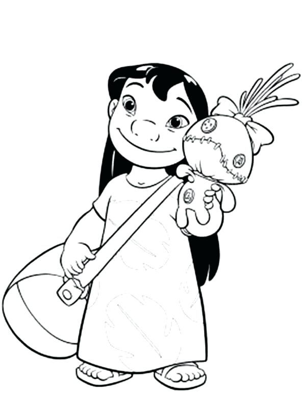 disney lilo and stitch coloring pages 9