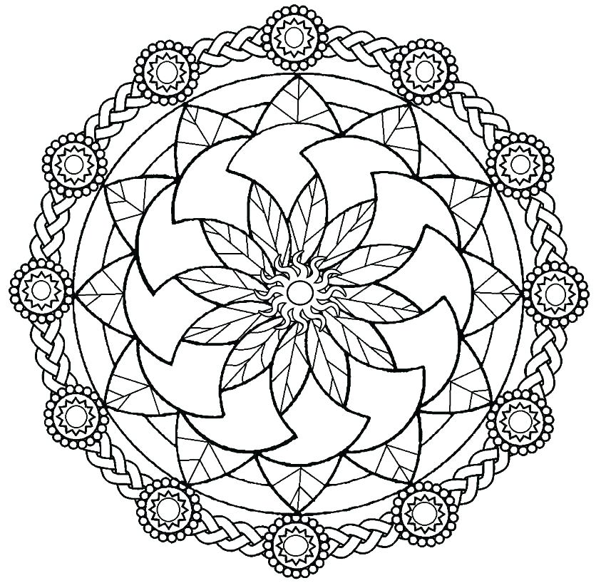 850x818 Coloring Pagescom Free Free Coloring Pages Mandala Color Pages
