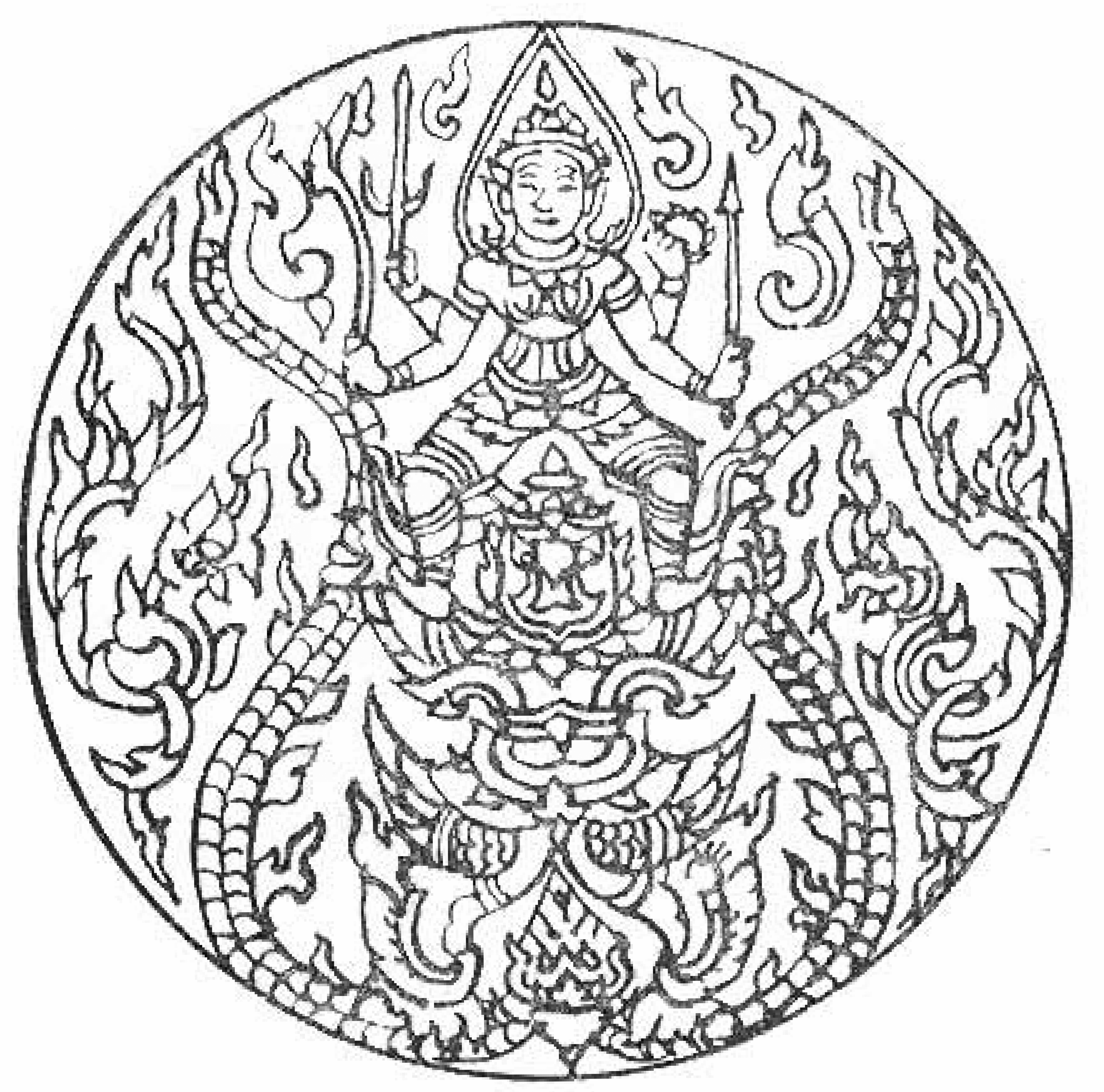 4533x4484 Free Printable Mandala Coloring Pages For Adults
