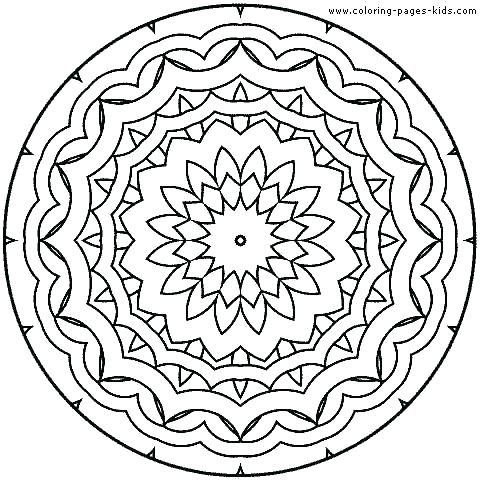 480x480 Mandala Coloring Pages For Kids Animal Mandala Coloring Pages