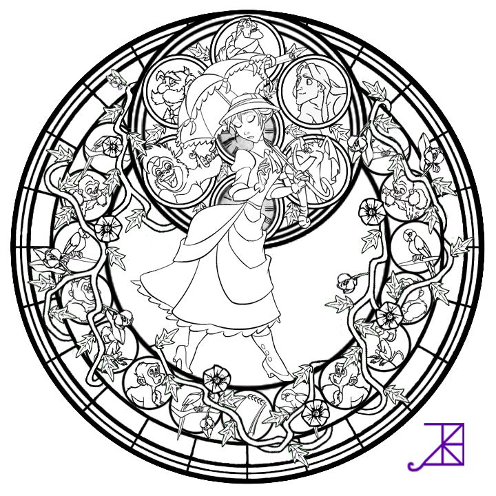 Disney Mandala Coloring Pages At Getdrawings Com Free For
