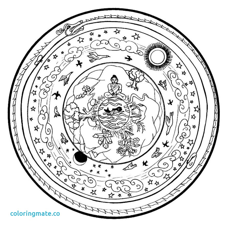 901x894 Mandalas Coloring Pages Inspirational Free Mandala Coloring Pages