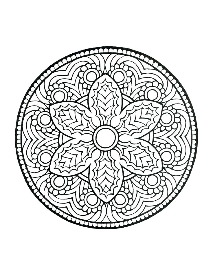 736x952 Mystical Mandala Coloring Pages Mystic Mandala Coloring Pages