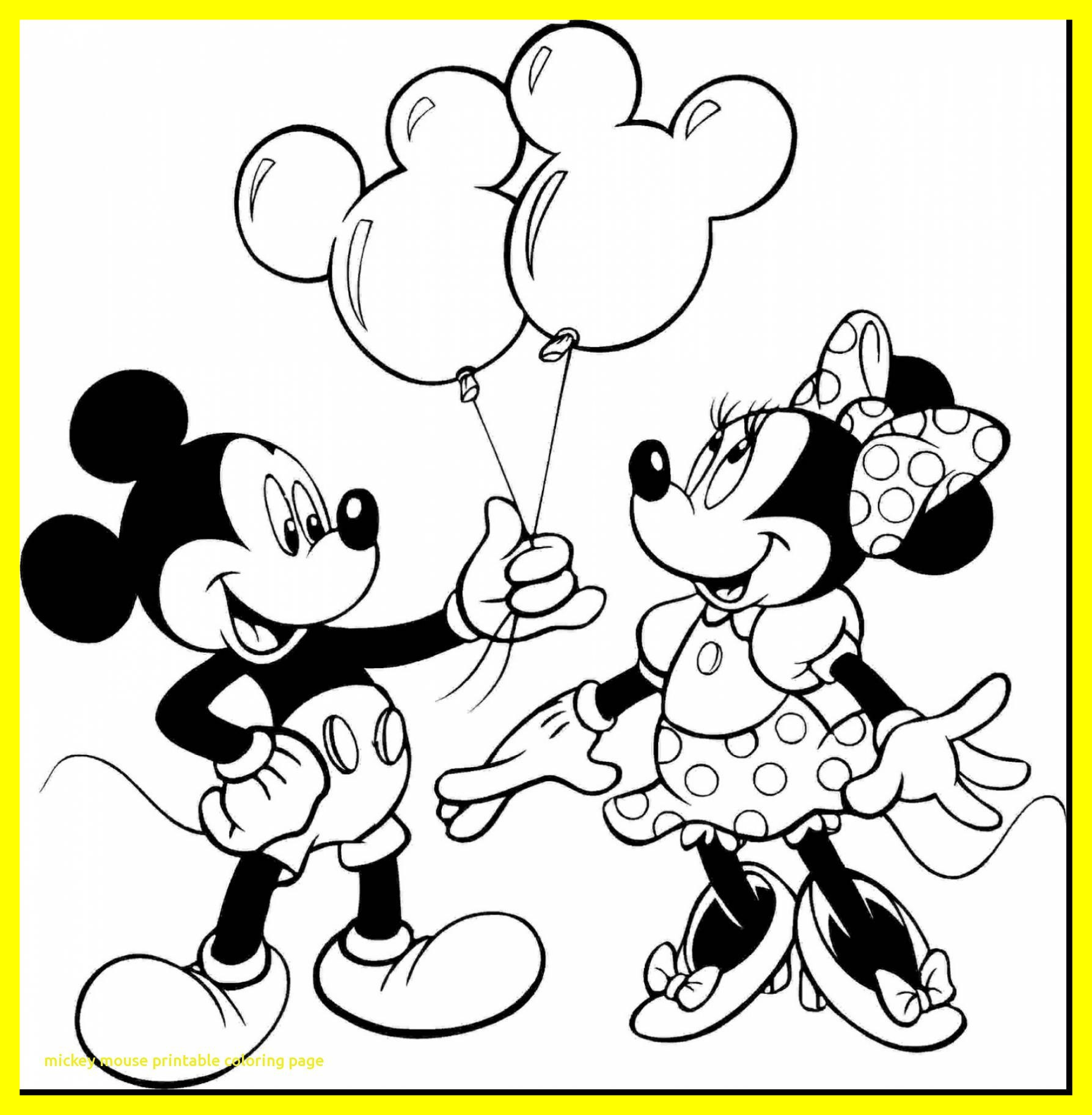 1787x1824 Marvelous Minnie Mouse Coloring Mickey Printable Page