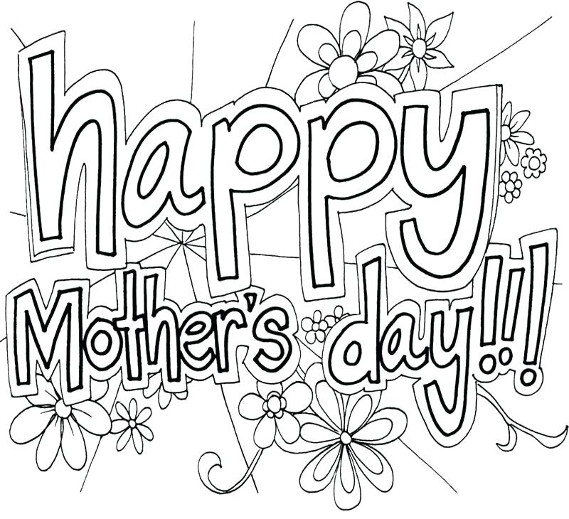 Disney Mothers Day Coloring Pages