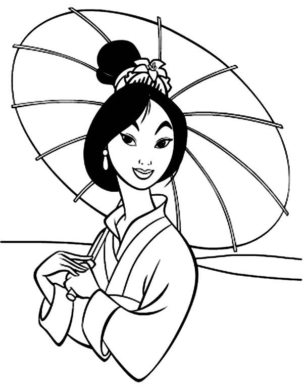 600x769 Disney Mulan Coloring Pages Disney Princess Mulan Coloring Pages