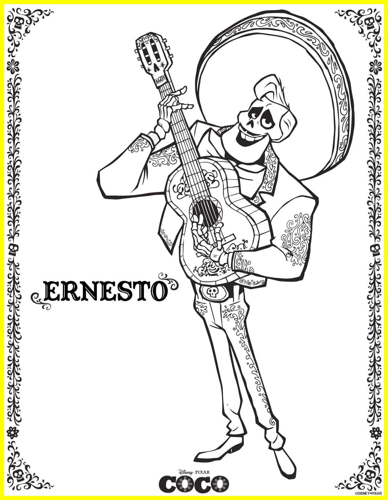 1302x1677 Best Coloring Page Pixar Inside Out Disney Up Pict For Popular