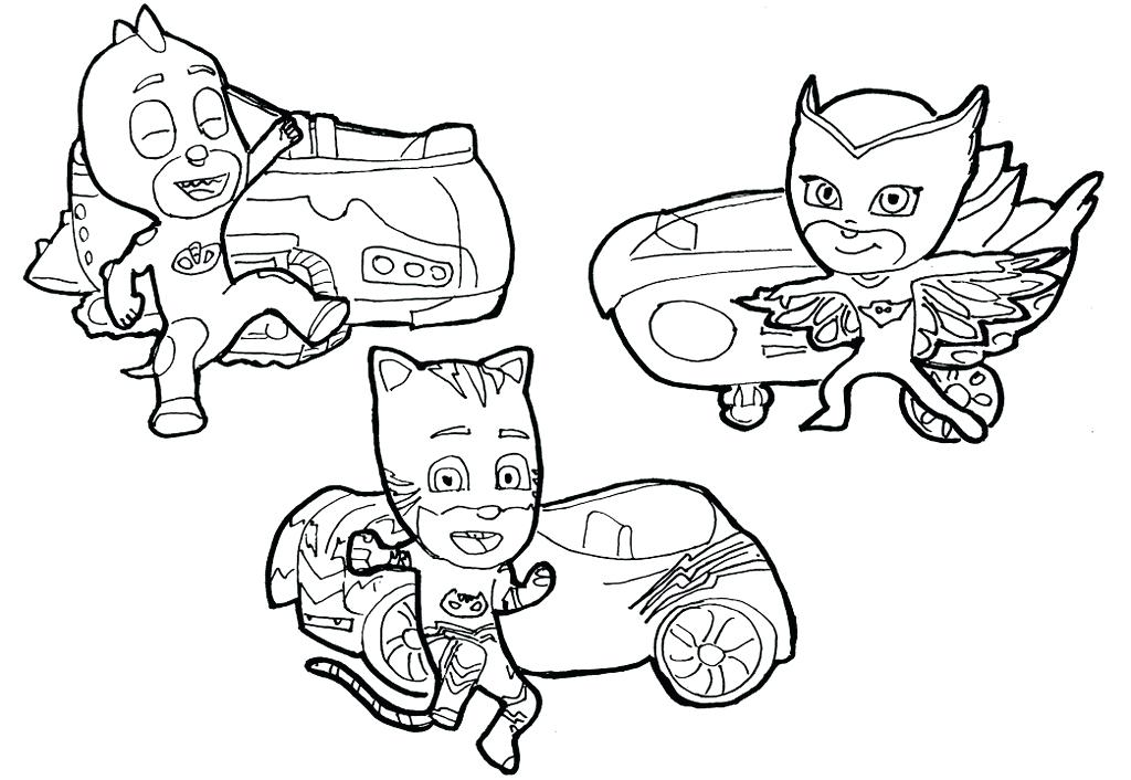 1024x706 Pj Masks Coloring Games Also Junior Masks Coloring Pages Pj Masks