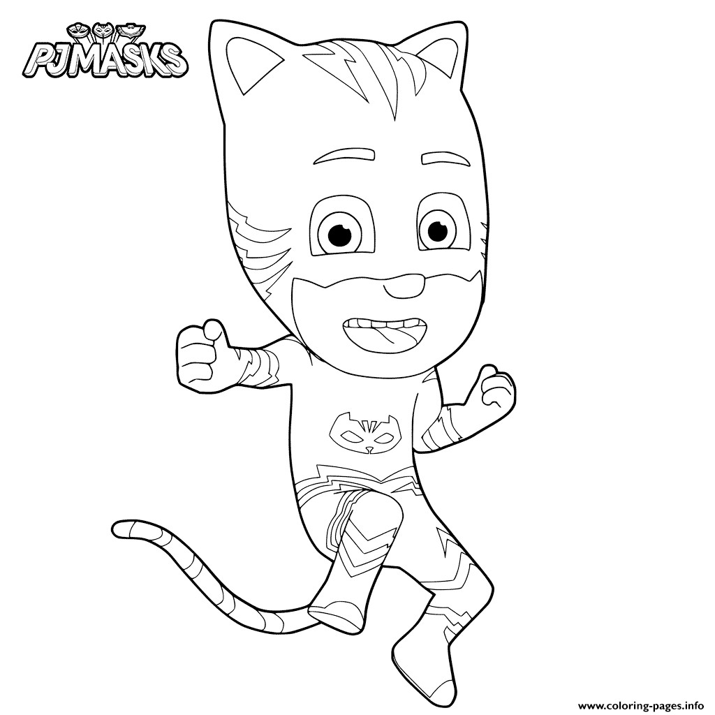 1024x1024 Pj Masks Coloring Pages Printable
