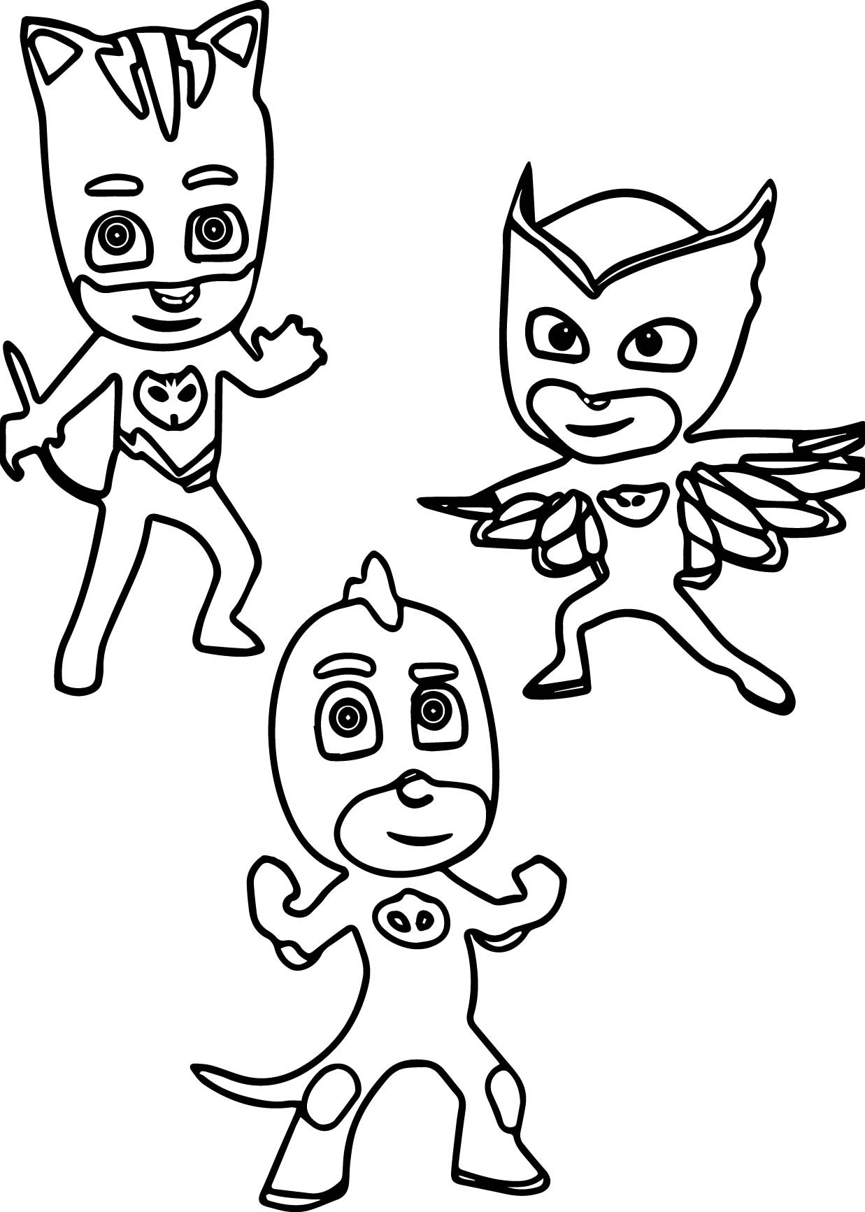 1237x1733 Coloring Pages For Pj Masks Best Of Catboy Coloring Page