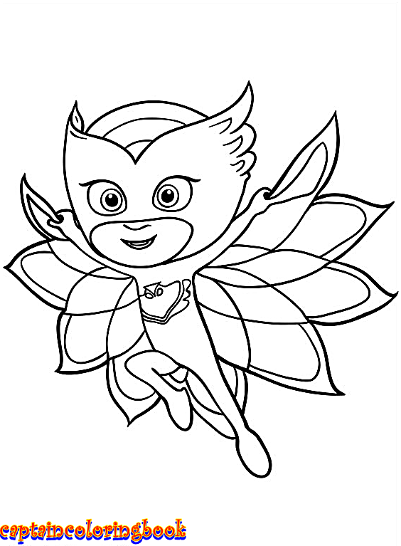 564x767 Disney Pj Masks Coloring Pages Free Download