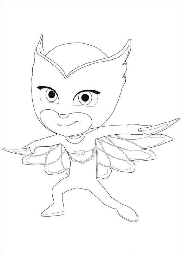 593x832 Kids N Coloring Pages Of Pj Masks