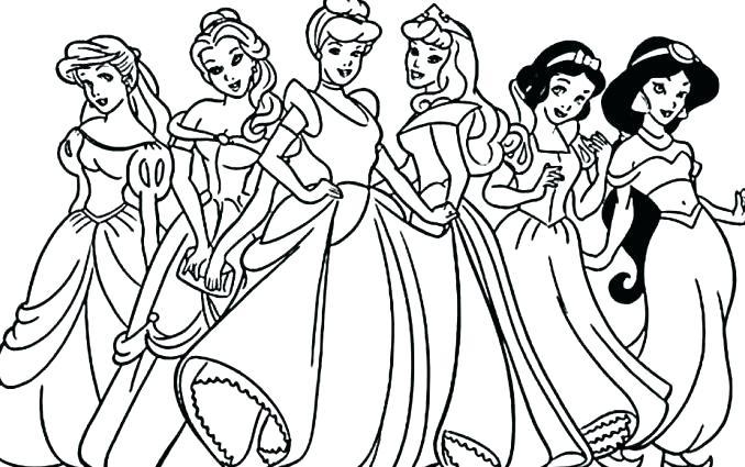 678x425 Disney Princess Color Sheets Baby Princess Coloring Sheets Pages