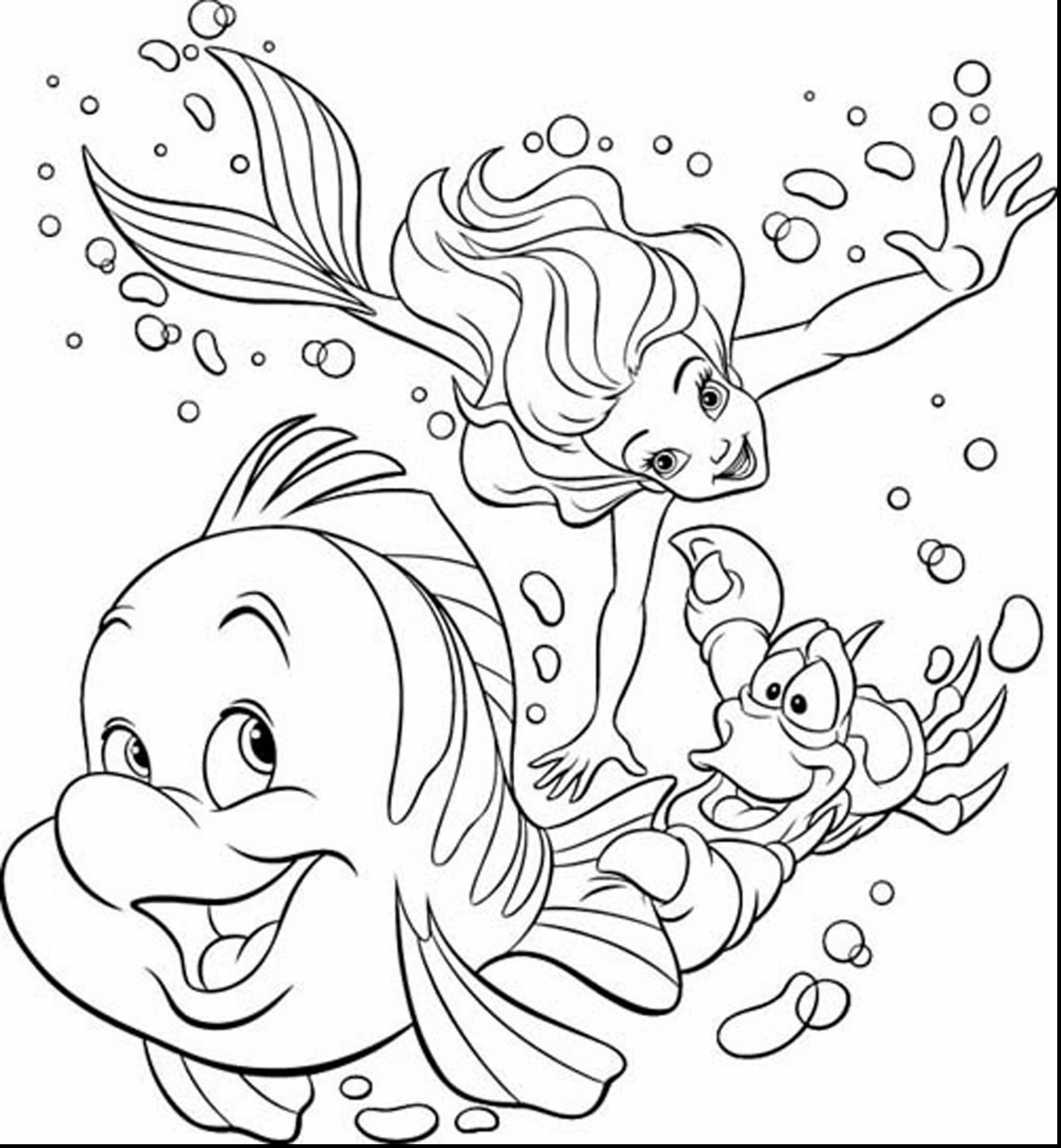 Coloring Pages For Ariel - Coloring Home | 3034x2805