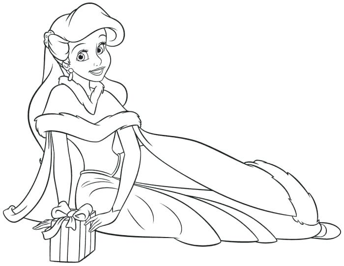 700x542 Disney Princess Christmas Coloring Pages Coloring Pages Princess