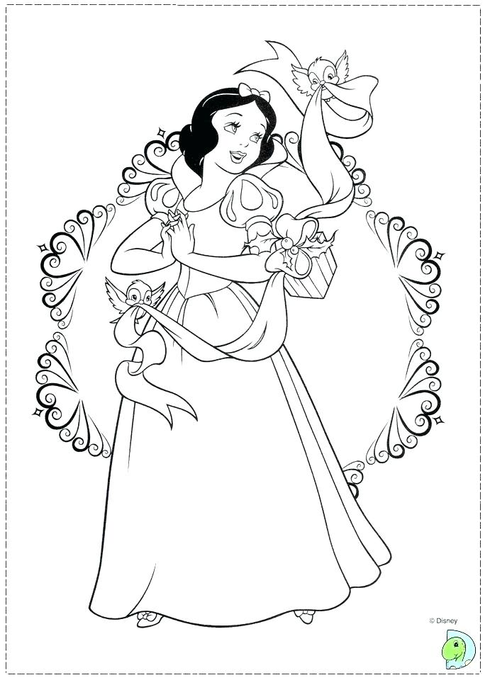 691x960 Princess Coloring Pages Free Coloring Pages Princess Colouring