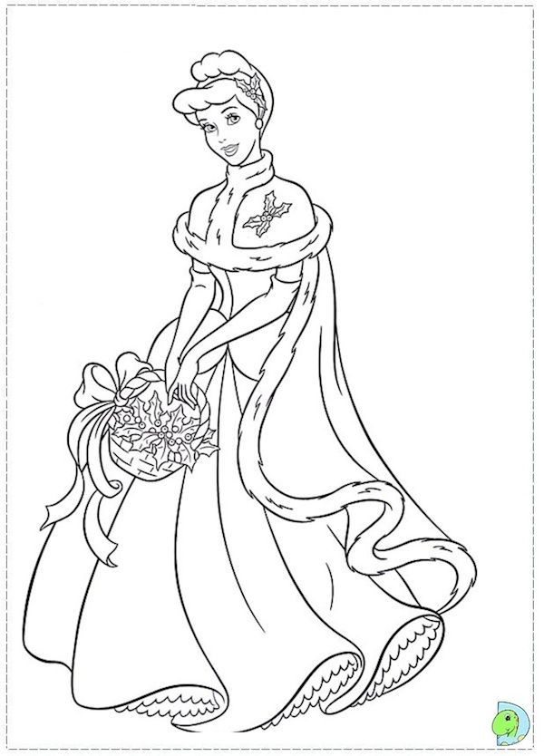 600x834 Disney Princess Christmas Coloring Pages Best Christmas