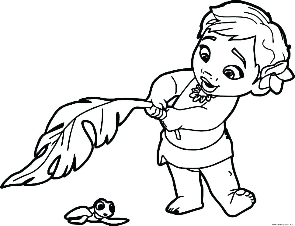 970x743 Disney Princess Coloring Pages Printable Free Babies Baby Color