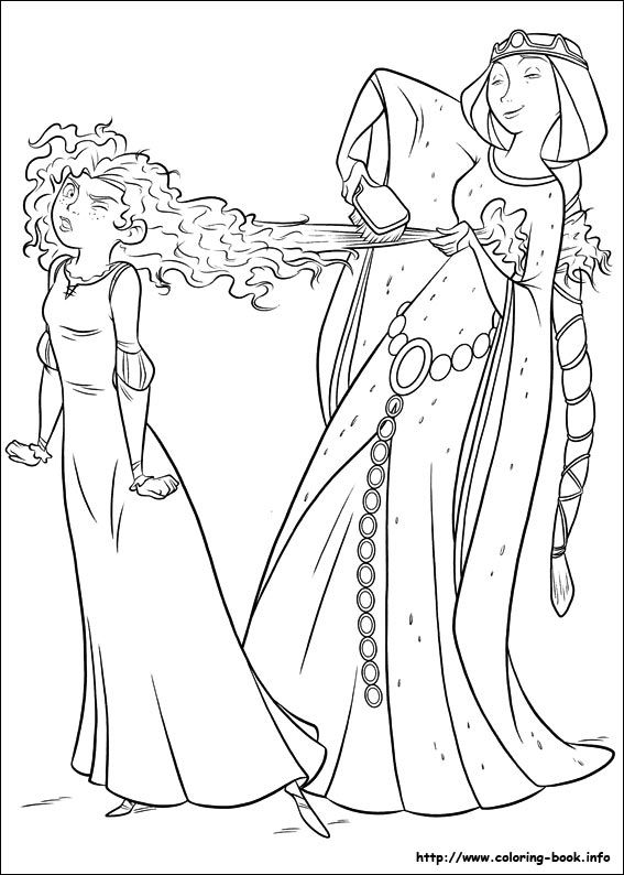 567x794 Brave Coloring Picture !my Coloring Pages Digi