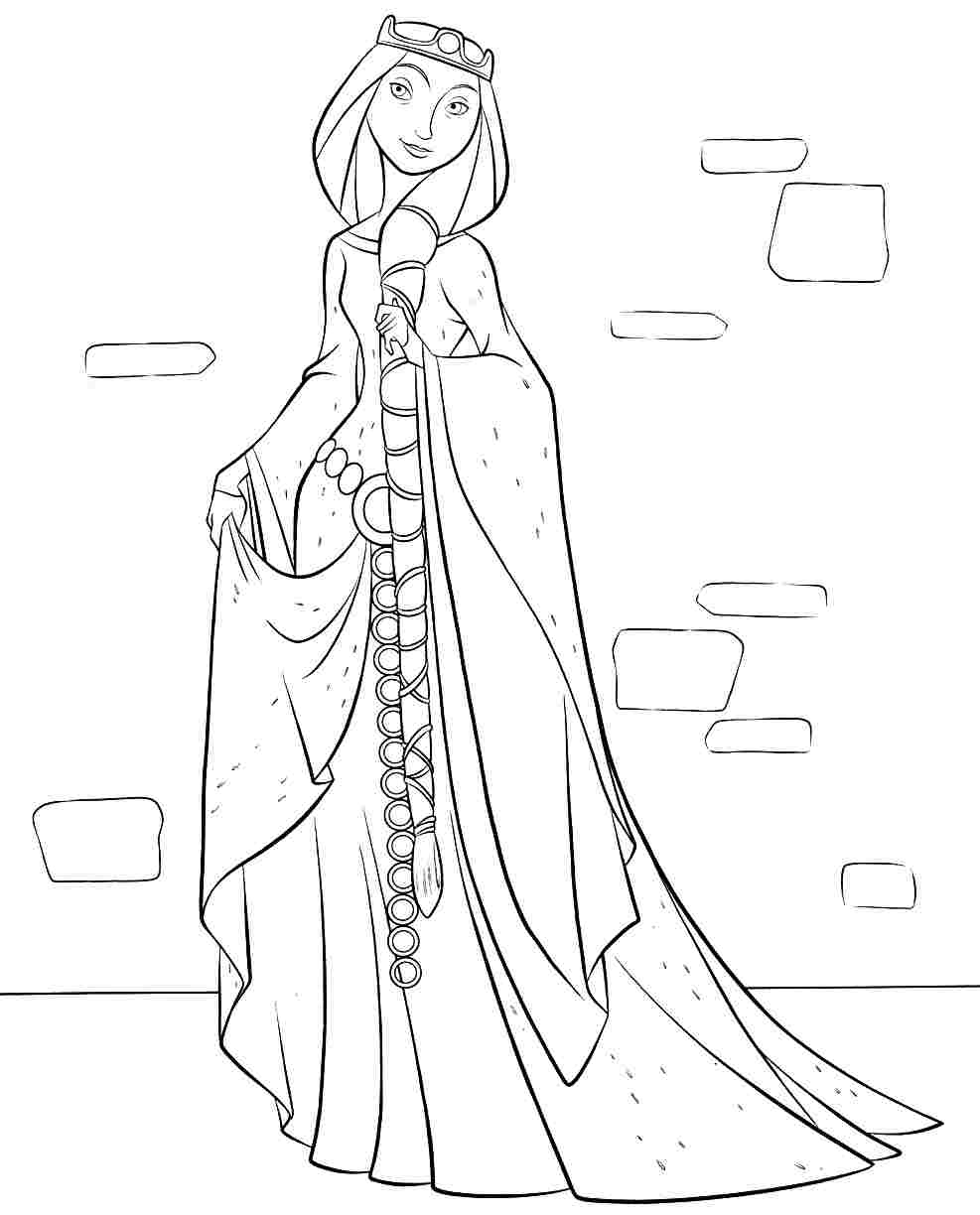 987x1224 New Disney Princess Coloring Pages Brave Gallery Printable