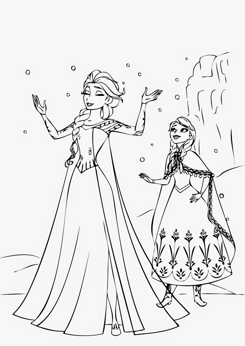 848x1200 New Disney Princess Coloring Pages Frozen Elsa Collection