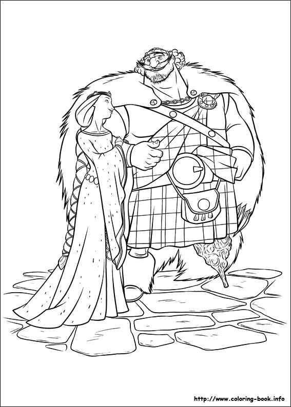567x794 Brave Coloring Pages Free Christmas Disney Princess Coloring Pages