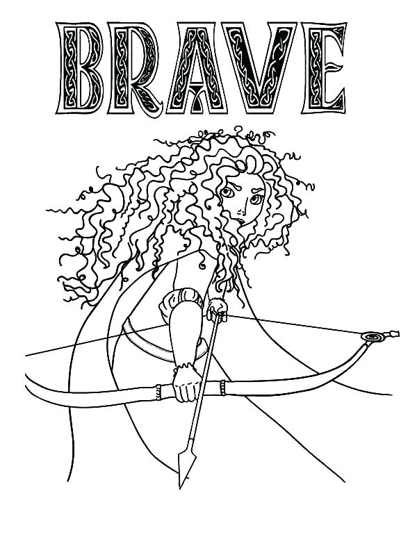 600x776 Brave Coloring Pages Great Brave Coloring Pages Print Ess